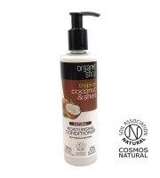 Organic Shop, Nawilżająca odżywka do włosów COCONUT&SHEA, 280 ml