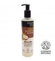 Organic Shop, Nawilżający szampon do włosów COCONUT&SHEA, 280 ml