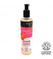Organic Shop, Zwiększający objętość szampon do włosów RASPBERRY&ACAI, 280 ml