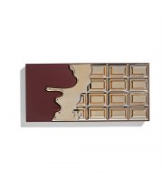 Makeup Revolution, I Heart Revolution chocolate 24k GOLD, paleta cieni, 22 g
