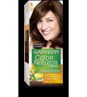 Garnier, Color Naturals Crème, Trwała farba do włosów, 5 JASNY BRĄZ, 100 + 10 ml
