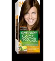 Garnier, Color Naturals Crème, Trwała farba do włosów, 4.3 ZŁOTY BRĄZ, 100 + 10 ml