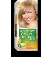Garnier, Color Naturals Crème, Trwała farba do włosów, 9.13 BARDZO JASNY BEŻOWY BLOND, 100 + 10 ml