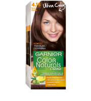 Garnier, Color Naturals Crème, Trwała farba do włosów, 4.15 MROŹNY KASZTAN, 100 + 10 ml