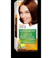 Garnier, Color Naturals Crème, Trwała farba do włosów, 5.4 MIEDZIANY KASZTAN, 100 + 10 ml
