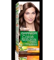 Garnier, Color Naturals Crème, Trwała farba do włosów, 5N NATURALNY JASNY BRĄZ, 100 + 10 ml