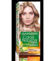 Garnier, Color Naturals Crème, Trwała farba do włosów, 9N NATURALNY BARDZO JASNY BLOND, 100 + 10 ml