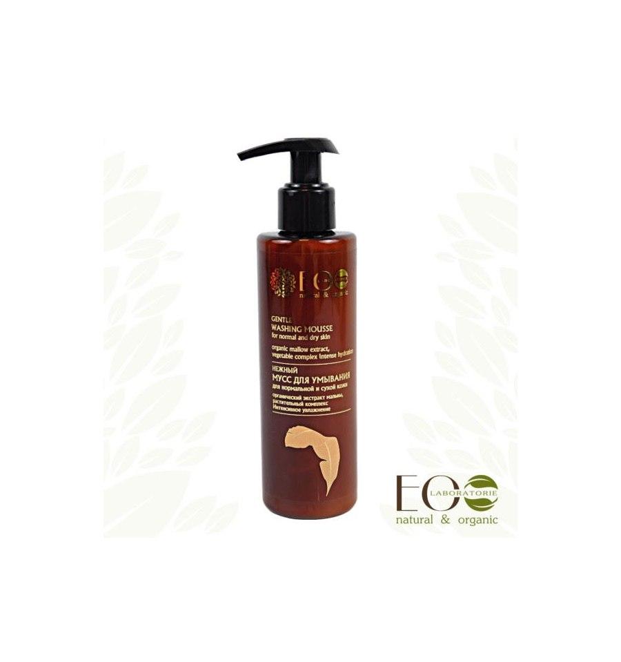 Ecolab, Delikatny mus do oczyszczania normalnej i suchej skóry twarzy, 200 ml