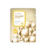 seaNtree, Collagen mask sheet, KOLAGENOWA maseczka do twarzy w płacie, 20 ml