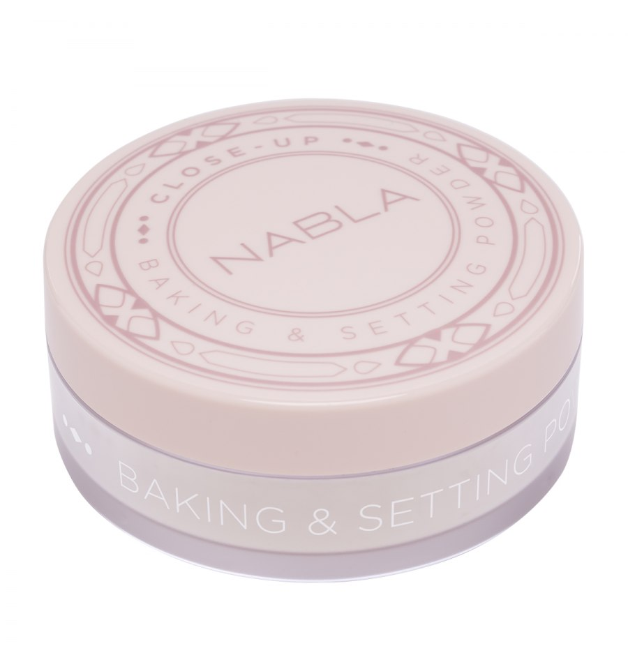 Nabla, Close-up, Baking&Setting Powder TRANSLUCENT, puder wykończeniowy, 30 g