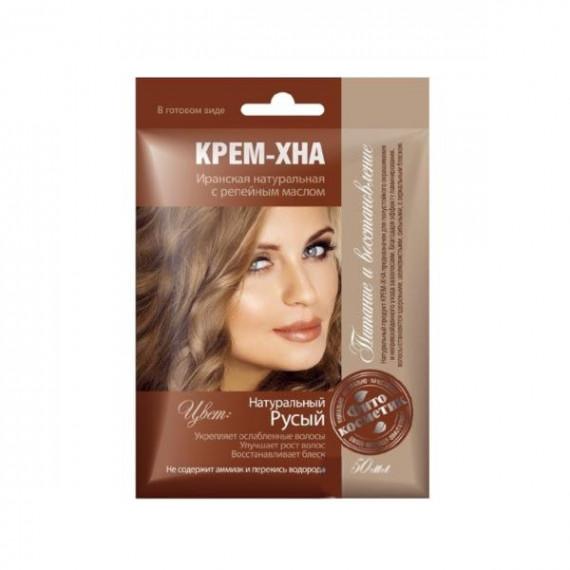 Fitokosmetik, Krem-henna, NATURALNY BLOND, 50 ml