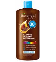 Bielenda, Bikini, Kakaowe mleczko do opalania SPF 30, 150 ml
