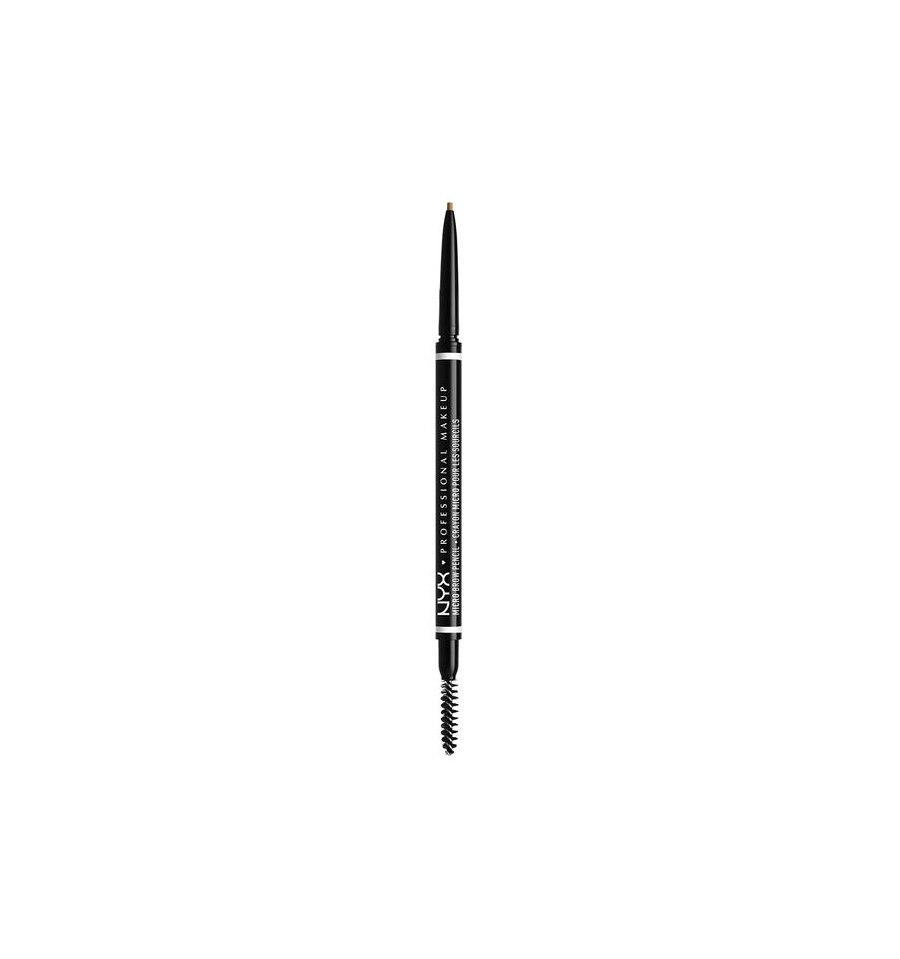 NYX,  Micro Brow Pencil, Kredka do brwi ze szczoteczką, 02 BLONDE, 0.09g