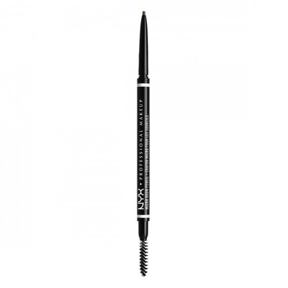 NYX,  Micro Brow Pencil, Kredka do brwi ze szczoteczką, 04 CHOCOLATE, 0.09g