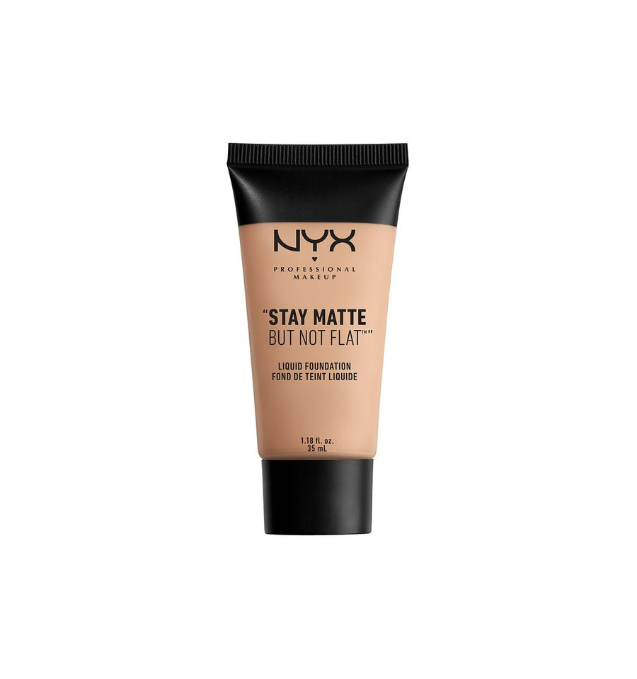 NYX,  Stay Matte But Not Flat, Podkład w płynie, 18 MEDIUM, 35 ml