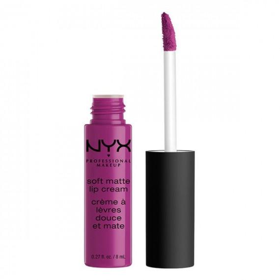 NYX, Soft Matte Lip Cream, Matowa pomadka w płynie, 30 SEOUL, 8 ml