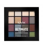 NYX, Ultimate, Paleta cieni, 01 SMOKEY & HIGHLIGHT, 13.28 g