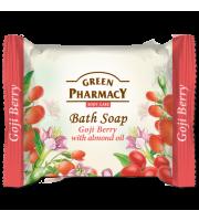 Green Pharmacy, Mydło toaletowe JAGODY GOJI i OLEJ MIGDAŁOWY, 100 g