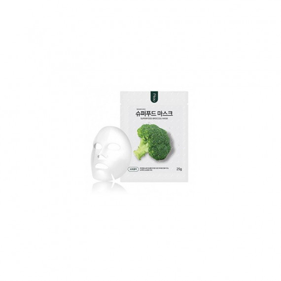 NO:HJ, Superfood Mask Pack, Broccoli, Oczyszczająco-odżywcza, 25 g