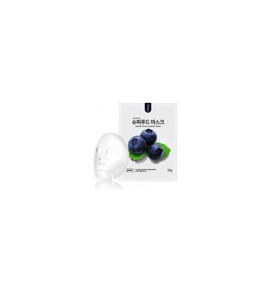 NO:HJ, Superfood Mask Pack, Blueberry, Regulująco-odżywcza, 25 g