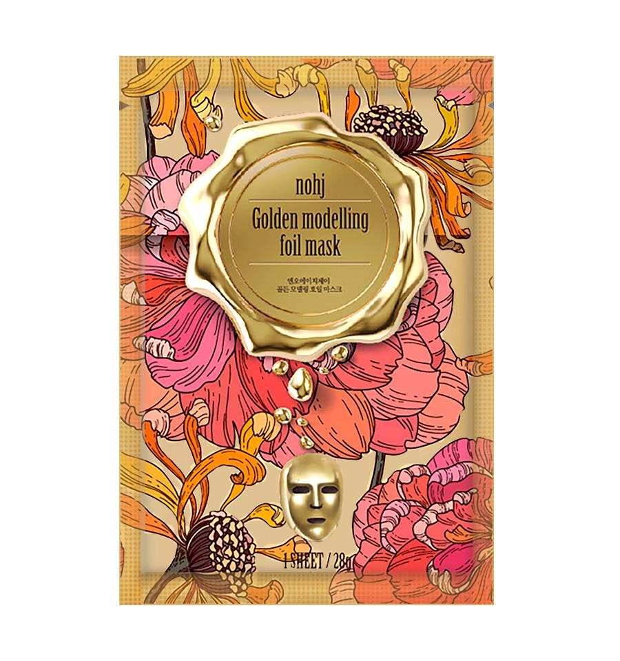 NO:HJ, Golden Modeling Foil Mask, Złota maska modelująca, 28 g