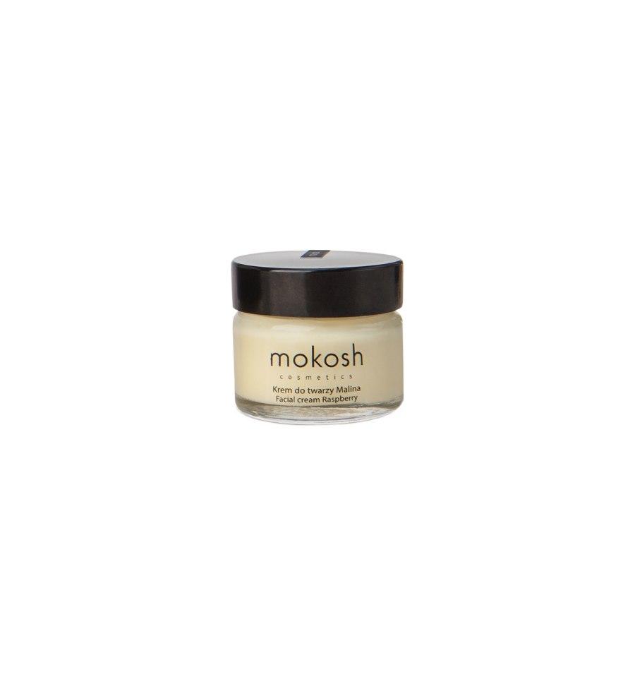 Mokosh, Regenerujący krem do twarzy ANTI-POLLUTION Malina, 15 ml