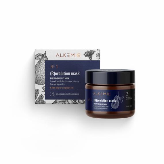 Alkemie, ANTI AGE, N.1 (R)evolution mask, Maska liftingująco-odmładzająca, 60 ml