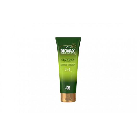 L'biotica, BIOVAX, Odżywka Ekspresowa 7w1 do włosów cienkich i osłabionych, BAMBUS & OLEJ AVOCADO, 200 ml