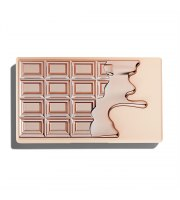 MakeUp Revolution, I Heart Revolution Rose Gold Chocolate, Paleta Cieni do Powiek MINI, 10.2 g