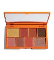 Makeup Revolution, Chocolate Orange, Paleta cieni MINI, 10.2 g