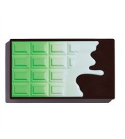 Makeup Revolution, I Heart Revolution Mint Choc Chocolate, Paleta cieni MINI, 10.2 g