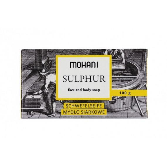 Mohani, Naturalne mydło siarkowe, SULPHUR, 100 g