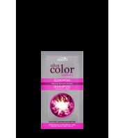 Joanna, ULTRA COLOR SYSTEM, Szamponetka do włosów blond i siwych nadający różowy odcień, 20 ml
