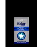 Joanna, ULTRA COLOR SYSTEM, Szamponetka do włosów blond i siwych nadający platynowy odcień, 20 ml