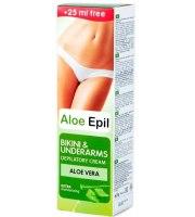 Aloe Epil, Krem do depilacji pach i strefy bikini, 125 ml
