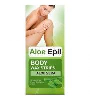 Aloe Epil, Plastry woskowe do depilacji CIAŁA, 16 szt.