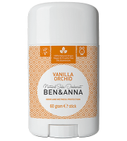 Ben&Anna, Naturalny dezodorant w sztyfcie, VANILLA ORCHID, 60 g