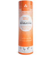 Ben&Anna, Naturalny dezodorant w KARTONOWYM sztyfcie, VANILLA ORCHID, 60 g