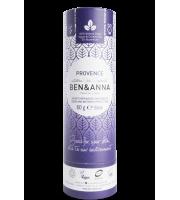 Ben&Anna, Naturalny dezodorant w KARTONOWYM sztyfcie, PROVENCE, 60 g