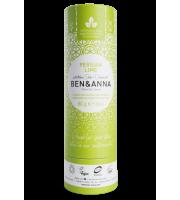 Ben&Anna, Naturalny dezodorant w KARTONOWYM sztyfcie, PERSIAN LIME, 60 g