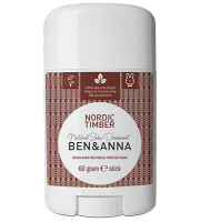 Ben&Anna, Naturalny dezodorant w sztyfcie, NORDIC TIMBER, 60 g