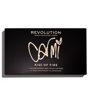 Makeup Revolution, X Carmi Kiss Of Fire, Paleta cieni do powiek, 27 g