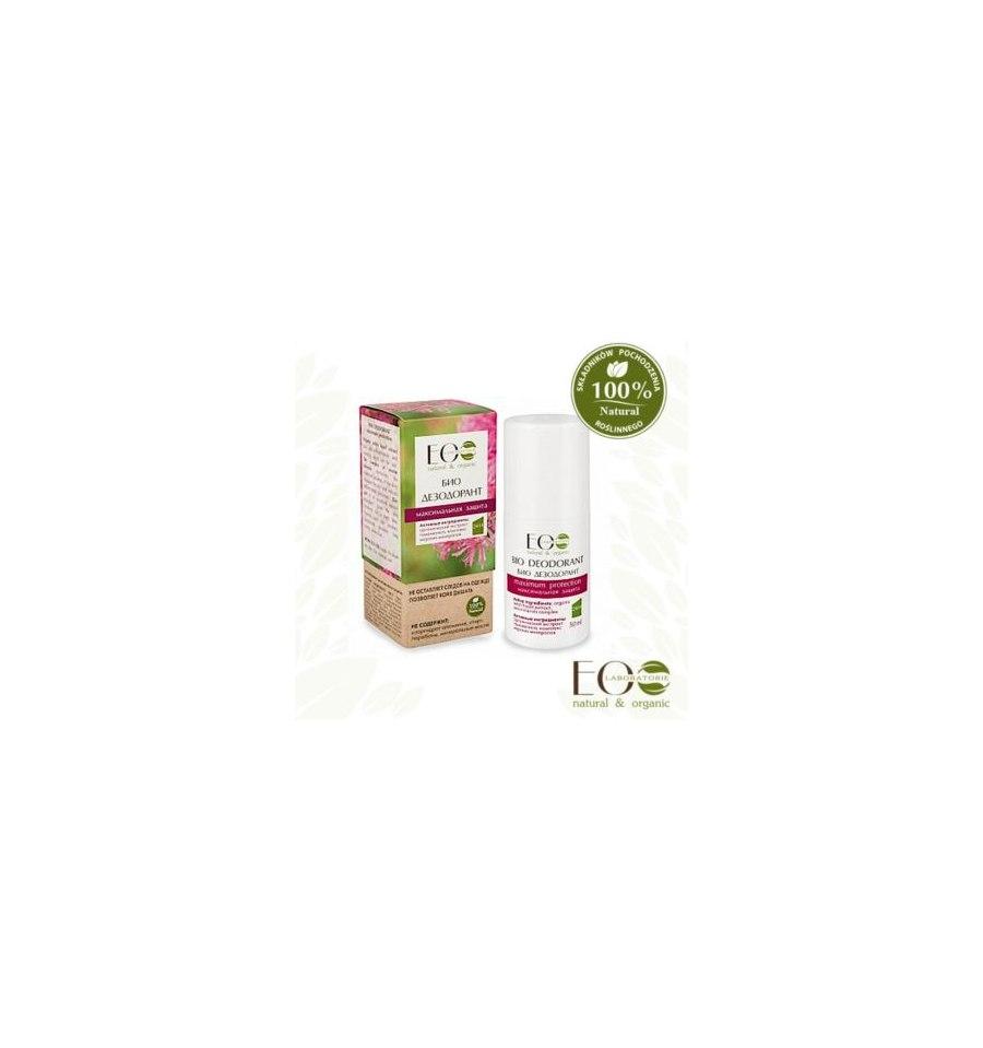 Ecolab, BIO-dezodorant, MAKSYMALNA OCHRONA, 50 ml
