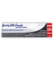 Beverly Hills Formula, Natural White Total Breath BLACK, 75+25 ml