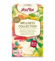 Yogi Tea, Wellness Collection, Zestaw 18 torebek