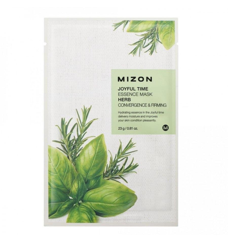 Mizon, Joyful Time HERB, ściągająca maska do twarzy, 23 g