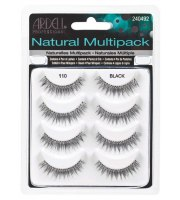 Ardell, Rzęsy Natural BLACK 110, 5 Pack