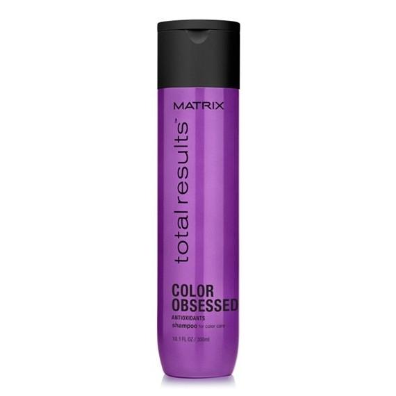 Matrix, Total Results, COLOR OBSESSED, Szampon do włosów farbowanych, 300 ml