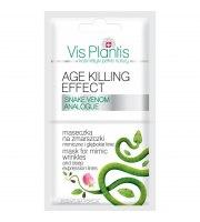 Vis Plantis, Age Killing Effect Maseczka na zmarszczki mimiczne i głębokie linie, 10 ml
