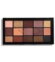 Makeup Revolution, Re-Loaded, VELVET ROSE, Paleta cieni do powiek, 16.5 g